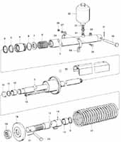 Sprängskiss hydraulcylinder
