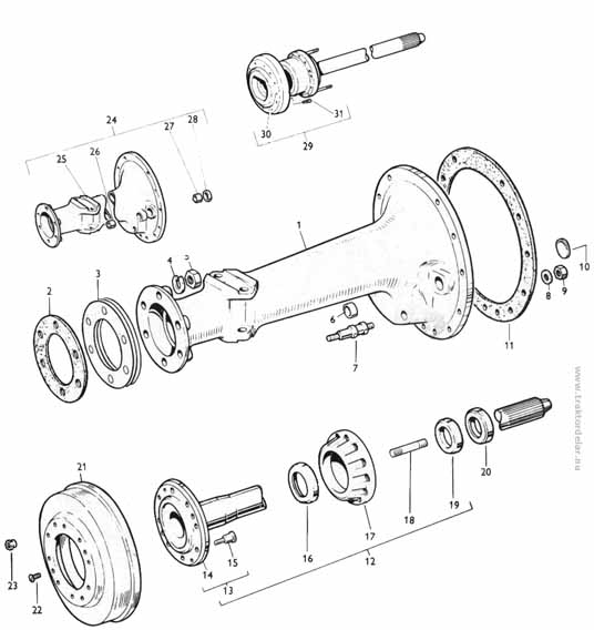 Massey Ferguson 65 Parts Diagram : Massey ferguson power steering diagram