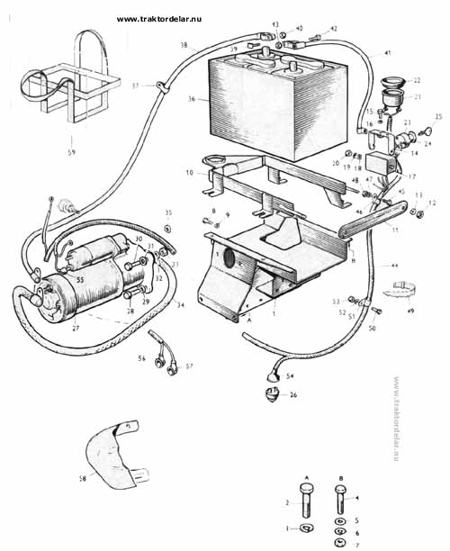 2810 ford tractor parts diagram