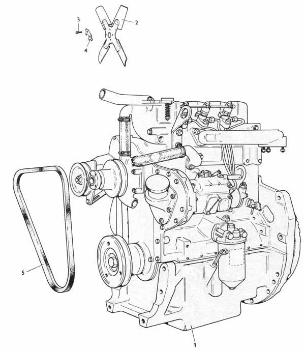 Ferguson Tractor Engine Diagram