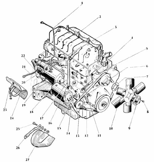 Original further Massey Ferguson 40 Industrial Tractor Parts Manual Htmh Pmf40 moreover Power steering also Mf35skiss Kraftoverf further 7zku1 Mf 130 Hydraulics No Movement Them. on mf tractor parts